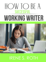 How to be a Successful Working Writer