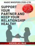 Magic Whispers (1120 +) to Support Your Partner and Keep Your Relationship Healthy