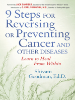 9 Steps to Reversing or Preventing Cancer and Other Diseases