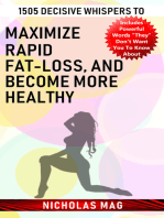 1505 Decisive Whispers to Maximize Rapid Fat-loss, and Become More Healthy