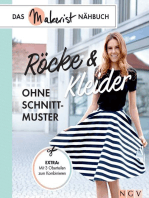 Röcke und Kleider ohne Schnittmuster: Das Makerist-Nähbuch - Extra: Mit 3 Oberteilen zum Kombinieren