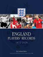 England Player's Records