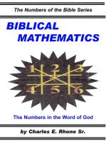 Biblical Mathematics