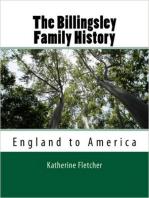 Billingsly Family History