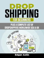 Drop Shipping for Beginners Plus a Complete List of Dropshippers Worldwide USA & UK