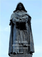 De la causa, principio et uno