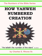 How Yahweh Numbered Creation