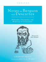 Notes on Bergson and Descartes: Philosophy, Christianity, and Modernity in Contestation
