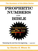 Prophetic Numbers of the Bible
