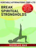 Veritable Affirmations (1089 +) to Break Spiritual Strongholds
