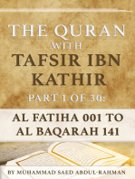 The Quran With Tafsir Ibn Kathir Part 1 of 30