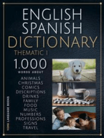 English Spanish Dictionary Thematic 1