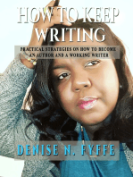 How to Keep Writing