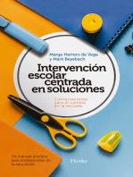 Intervención escolar centrada en soluciones