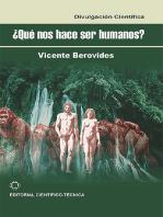 ¿Qué nos hace ser humanos?