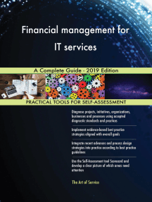 Financial management for IT services A Complete Guide - 2019 Edition