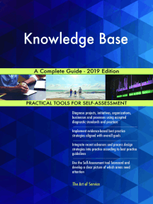 Knowledge Base A Complete Guide - 2019 Edition