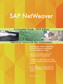 SAP NetWeaver A Complete Guide - 2019 Edition