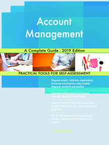 Account Management A Complete Guide - 2019 Edition