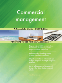 Commercial management A Complete Guide - 2019 Edition