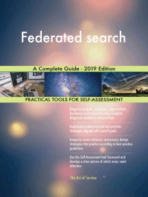 Federated search A Complete Guide - 2019 Edition