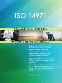 ISO 14971 A Complete Guide - 2019 Edition
