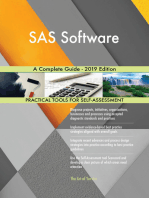 SAS Software A Complete Guide - 2019 Edition