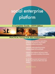 social enterprise platform A Complete Guide - 2019 Edition