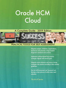 Oracle HCM Cloud A Complete Guide - 2019 Edition