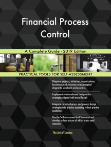 Financial Process Control A Complete Guide - 2019 Edition