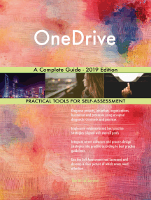 OneDrive A Complete Guide - 2019 Edition