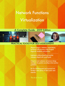 Network Functions Virtualization A Complete Guide - 2019 Edition