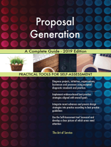 Proposal Generation A Complete Guide - 2019 Edition