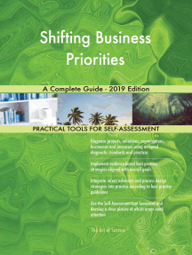 Shifting Business Priorities A Complete Guide - 2019 Edition