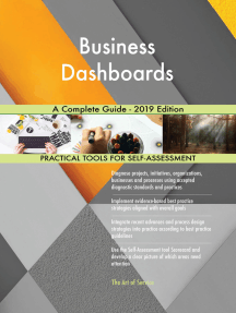 Business Dashboards A Complete Guide - 2019 Edition