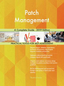 Patch Management A Complete Guide - 2019 Edition