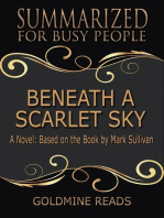 Beneath a Scarlet Sky - Summarized for Busy People