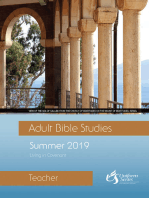 Adult Bible Studies Teacher Summer 2019