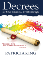 Decrees for Your Financial Breakthrough: Decree a Thing and It Will Be Established ... Job 22:28