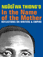 In the Name of the Mother: Reflections on Writers and Empire