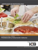 UF0055: PREELABORACIÓN Y CONSERVACIÓN CULINARIAS (HOTR0108)