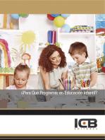 ¿Para Qué Programar en Educación Infantil?