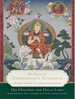 The Essence of Tsongkhapa's Teachings