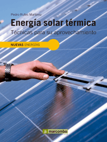 Energia solar térmica: Técnicas para su aprovechamiento