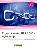 El gran libro de HTML5, CSS3 y Javascript