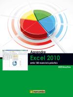 Aprendre Excel 2010 amb 100 exercicis pràctics