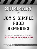 Summary of Joy's Simple Food Remedies: