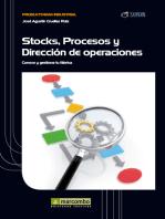 Stock, procesos y dirección de operaciones: Conoce y gestiona tu fábrica