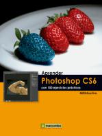 Aprender Photoshop CS6 con 100 ejercicios prácticos