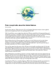 Peter Joseph Talks About the United Nations 10-27-2010 Free download PDF and Read online